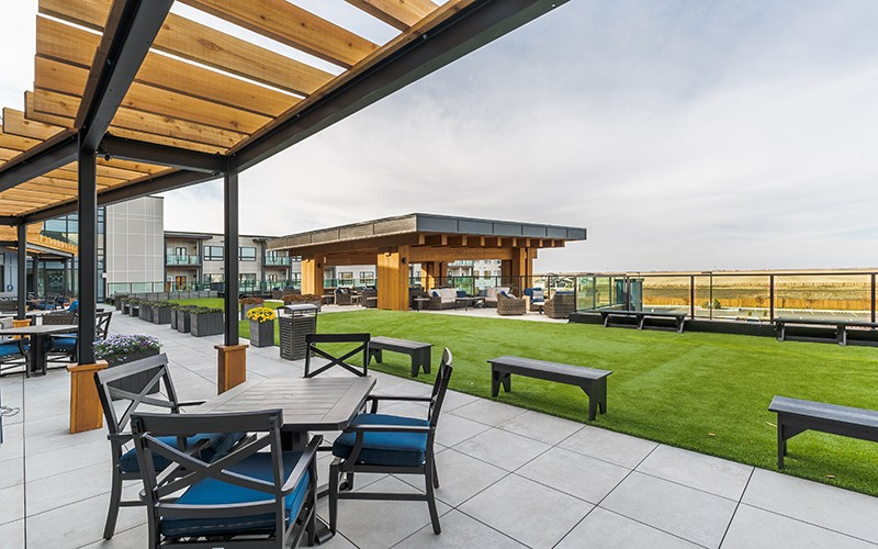 multifamily rooftop amenity